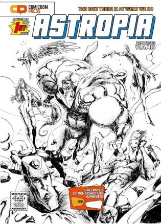 Astropia #1 (B&W Ltd. Edition)