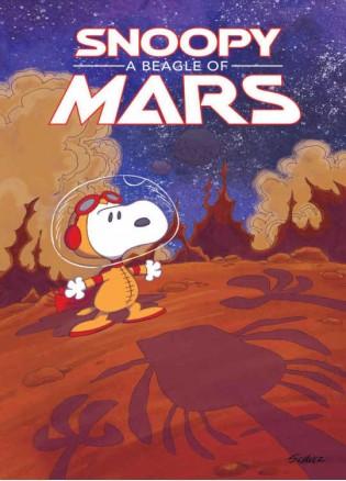 Snoopy Beagle Of Mars Original Gn Peanuts