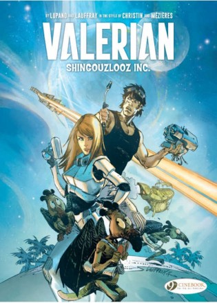 Valerian And Laureline Vol 01 Shingouzlooz Inc