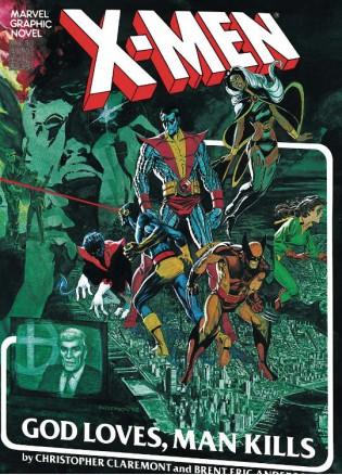 X-Men God Loves Man Kills Extended Cut Gallery Edition HC